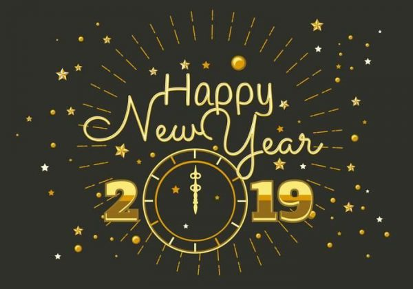 Happy 2019 card wishes - Happy 2019 card wishes