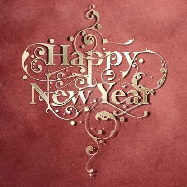 Happy new year greetings card - Happy new year greetings card