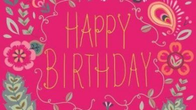 A great happy birthday message Image 390x220 - A great happy birthday message Image