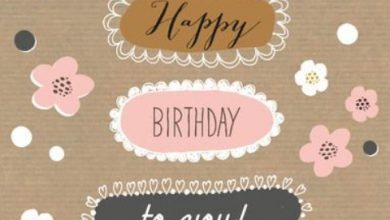 Birthday greeting words Image 390x220 - Birthday greeting words Image