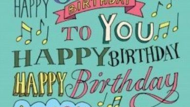 Birthday wishes sentence Image 390x220 - Birthday wishes sentence Image