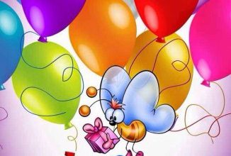 Decent birthday wishes Image 326x220 - Decent birthday wishes Image