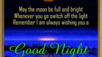 Good night love text image 390x220 - Good night love text image