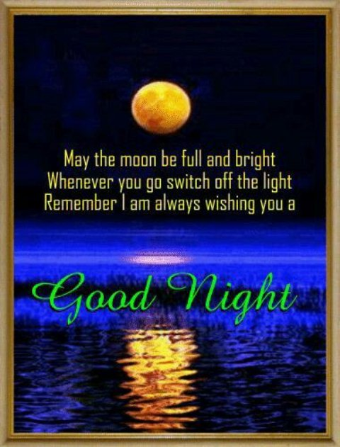 Good night love text image - Good night love text image