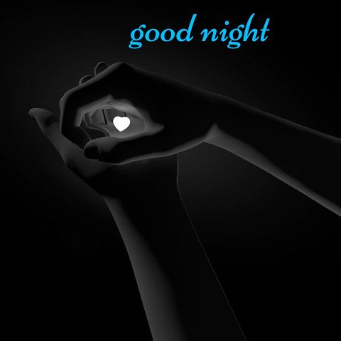 Good night text image - Good night text image