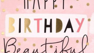 Happy birthday beautiful quotes Image 390x220 - Happy birthday beautiful quotes Image