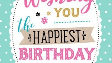 Happy birthday thoughts Image 390x220 - Happy birthday thoughts Image