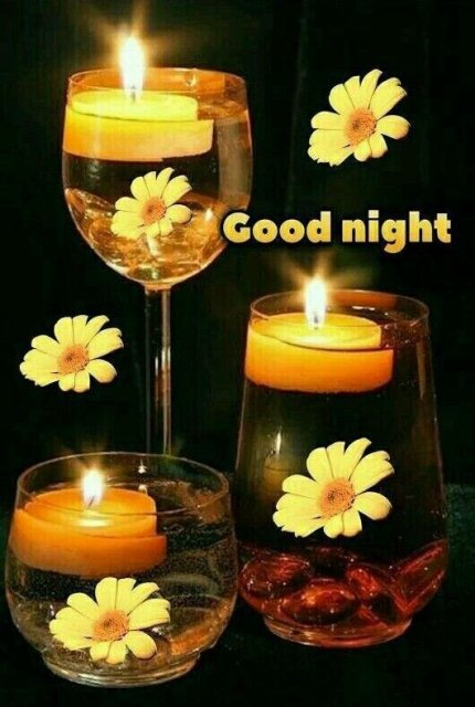 Romantic good night wishes image - Romantic good night wishes image