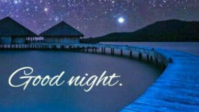 Sweet night sms image 390x220 - Sweet night sms image