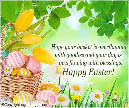 Easter Notes Greeting - Easter Notes Greeting