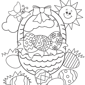 Easter Outline - Easter Outline