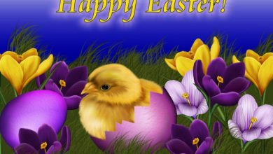 Happy Easter E Card 390x220 - Happy Easter E Card