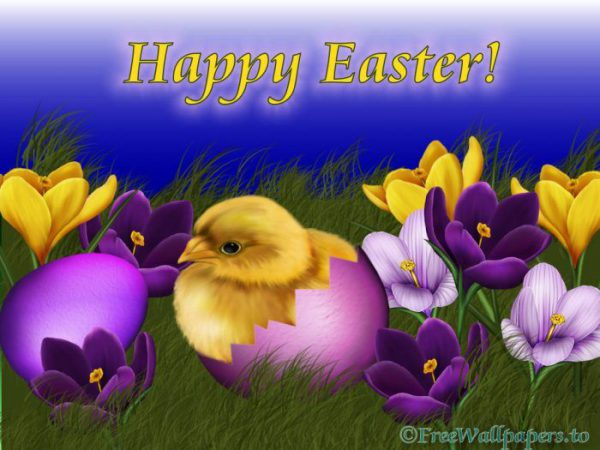 Happy Easter E Card - Happy Easter E Card