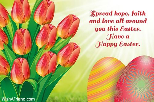 Happy Easter To My Family And Friends - Happy Easter To My Family And Friends