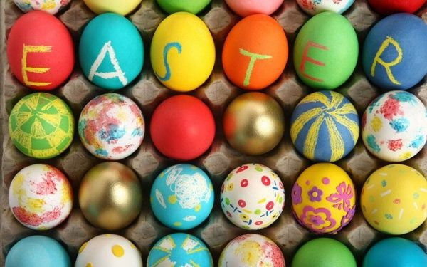 happy easter text - happy easter text