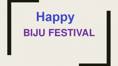 Biju Festival wishes