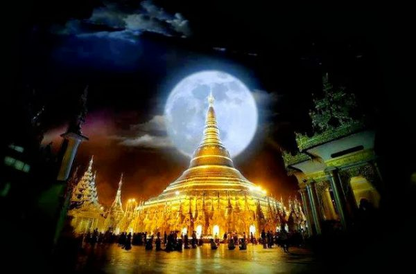 Full Moon Day of Tabaung wishes and greetings