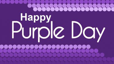 Happy Purple Day