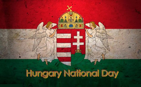 Happy national day hungary