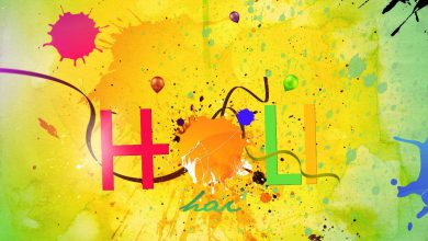 Holi Wishes In English 390x220 - Holi Wishes In English