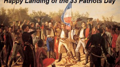 Landing of the 33 Patriots Day