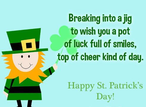 St Patricks Day Anniversary Cards - St Patrick's Day Anniversary Cards
