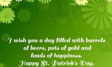 St Patricks Greeting Messages 366x220 - St Patrick's Greeting Messages