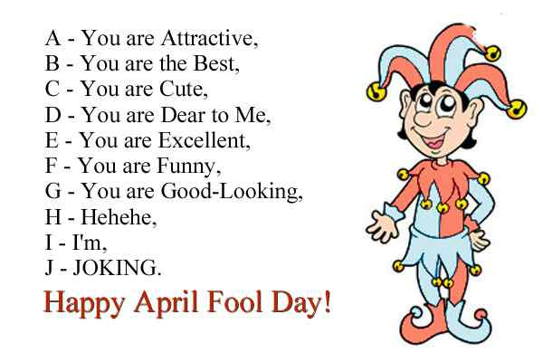 april fools day messages for whatsapp - April fools day messages for whatsapp and facebook