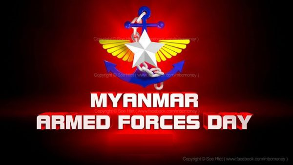 Armed forces day Myanmar