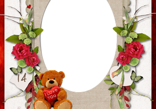 14 February. Be My Valentine photo frame 315x220 - 14 February. Be My Valentine photo frame