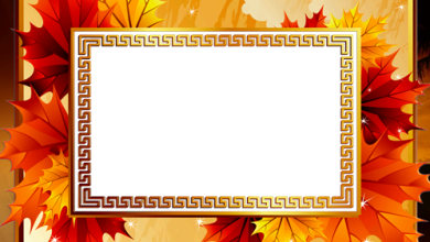 Bright Autumn photo frame 390x220 - Bright Autumn photo frame