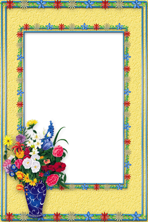 Bunch of Flowers photo frame - Bunch of Flowers photo frame