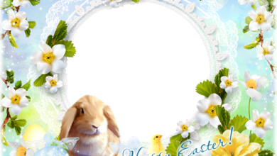 Have yourself a hoppy and happy Easter photo frame 390x220 - Have yourself a hoppy and happy Easter photo frame