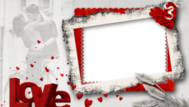 Madness Of Red Love photo frame 390x220 - Madness Of Red Love photo frame