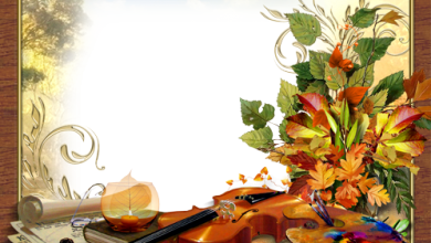 Melody and colors of autumn photo frame 390x220 - Melody and colors of autumn photo frame