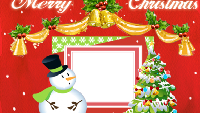 Merry Christmas and Happy New Year photo frame 390x220 - Merry Christmas and Happy New Year! photo frame