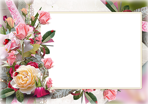 Sea Flowers photo frame - Sea Flowers photo frame
