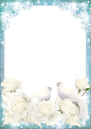 Winter Forest photo frame - Winter Forest photo frame