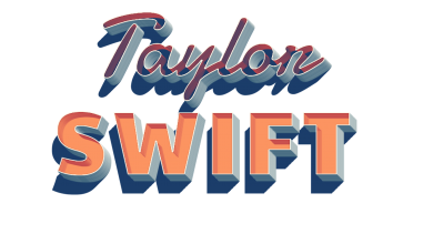 Taylor Swift 3D Letter PNG Name 390x220 - taylor swift tour 2019 BiographyTaylor Alison Swift
