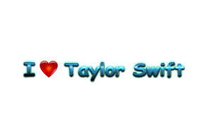 Taylor Swift Love Name Heart Design PNG 300x188 - How Previous Is Taylor Swift, and How Many Albums Has She Launched?