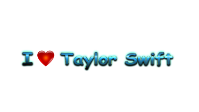 Taylor Swift Love Name Heart Design PNG 390x220 - Will Taylor Swift tour in 2019